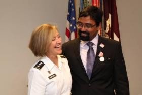 JK and Army Surgeon General P. Horoho